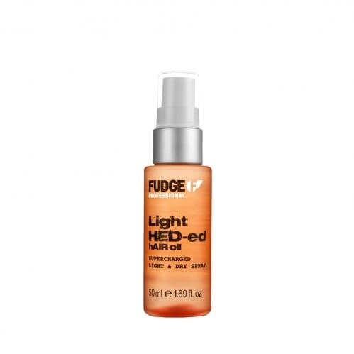 fudge light red hair oil