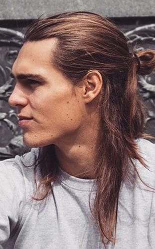 half-ponytail-for-men