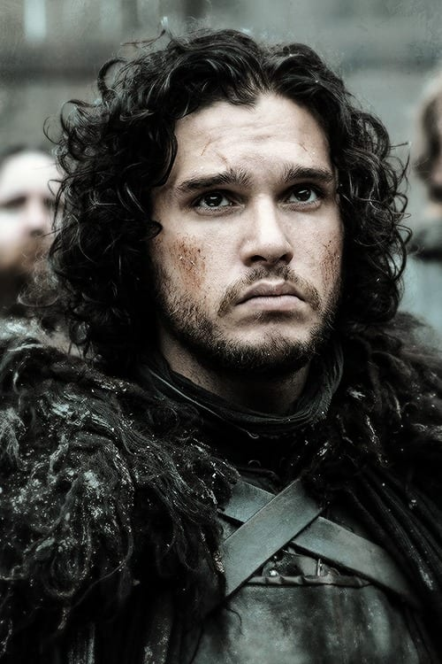 jon snow curly hair