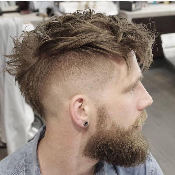 mohawk-fade-with-beard