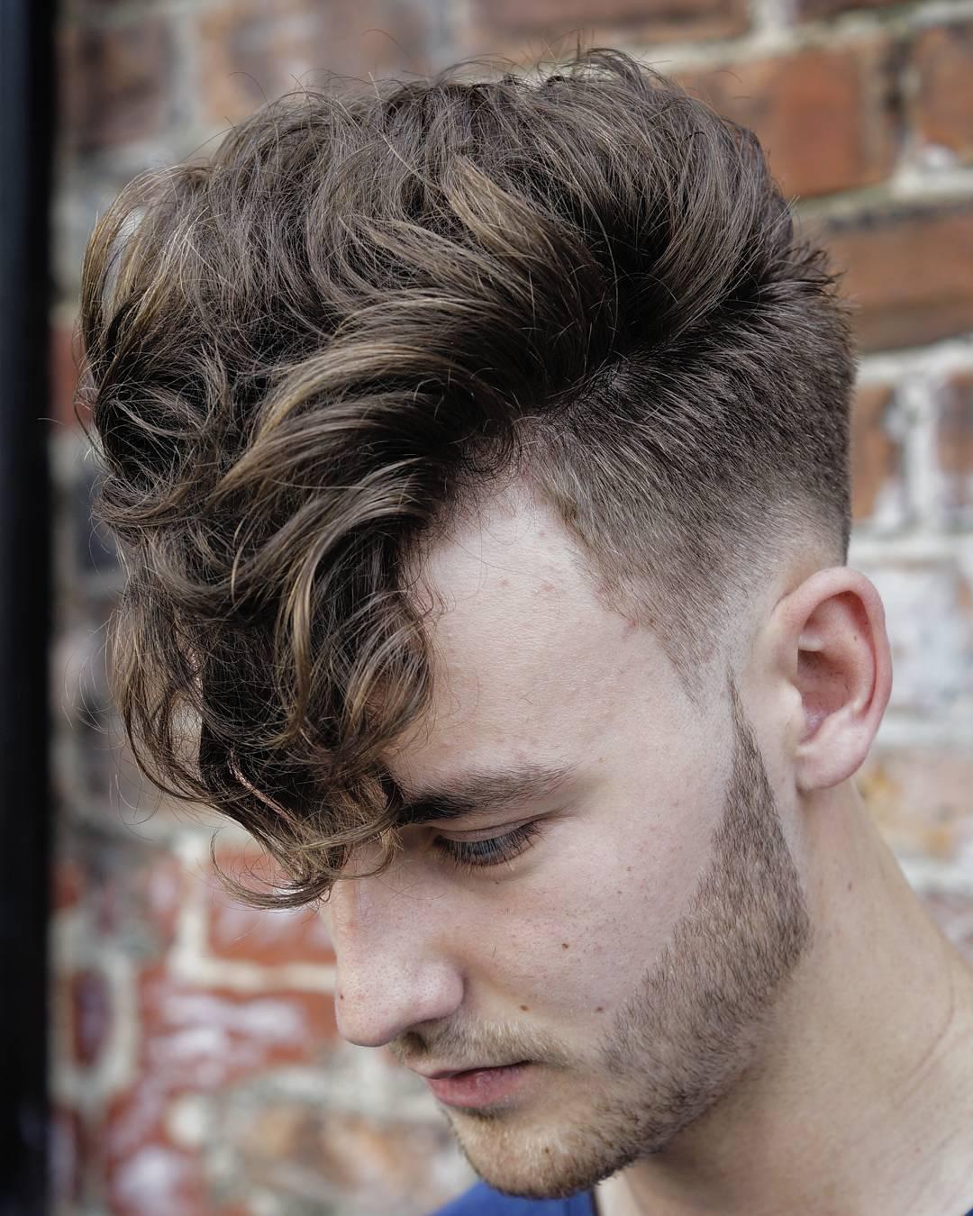 mohawk curls