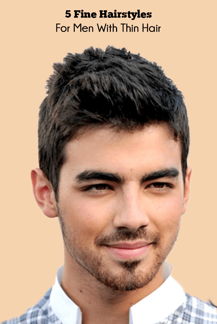 pictures for fine hairstyles for men with thin hair