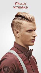 pictures of trendy mohawk braid