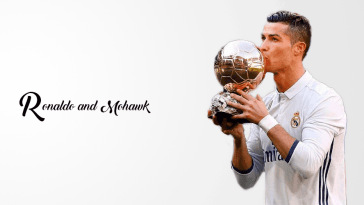 popular Cristiano Ronaldo and mohawk looks