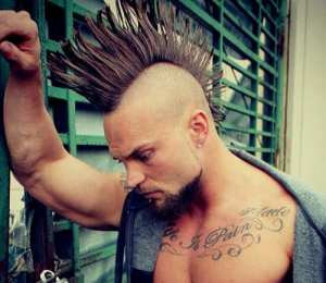 real mens Mohawk