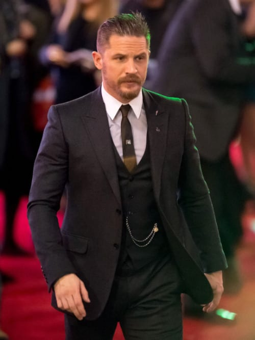 tom hardy with hair