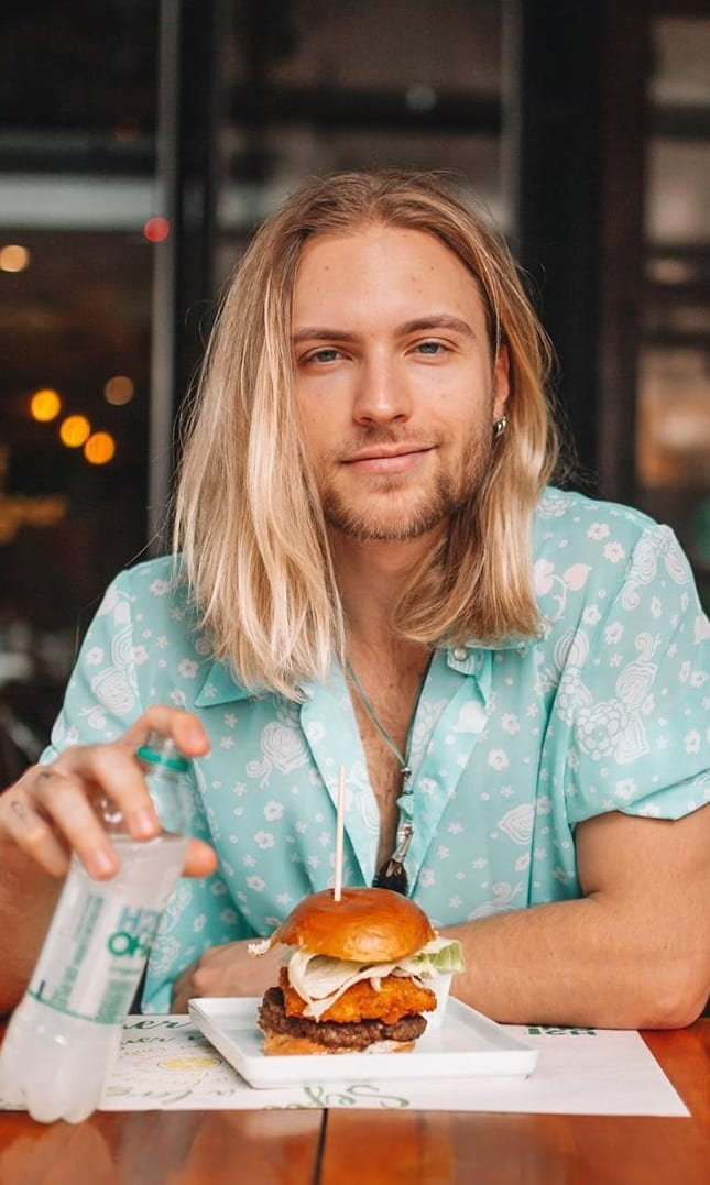 Straight Hair Mens Hairstyle for Men