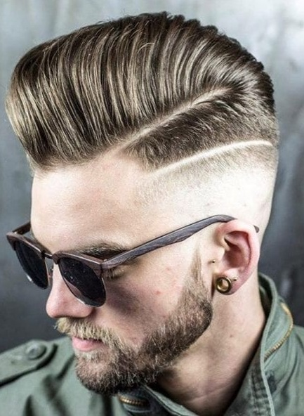 15 Cool Pompadour Hairstyles