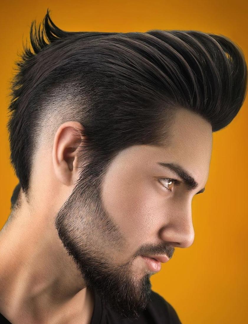 Amazing Pompadour Hair for Men
