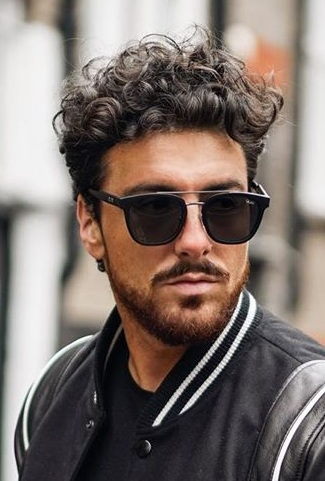 Best Curly Hair and Beard Combos