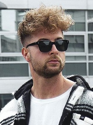 Curly Messy Hairstyles for Men