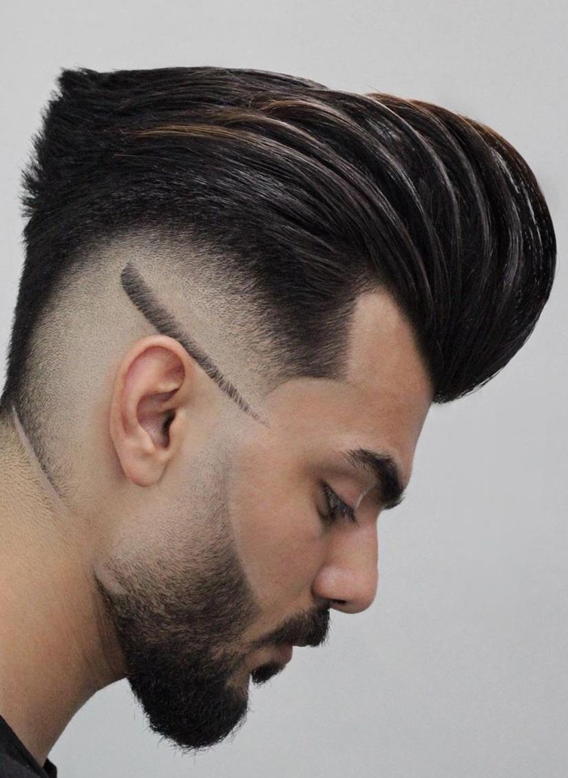 Modern Pompadour Haircut for Men