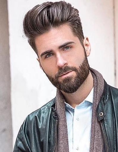 Pompadour Hairstyle look for men
