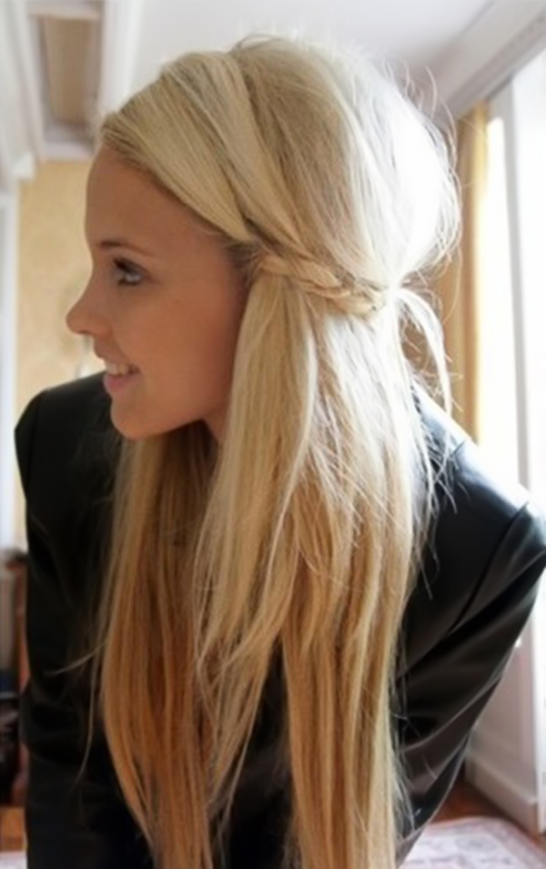 Cute Simple Hairstyle for Long Hair - Hairstyle Archives