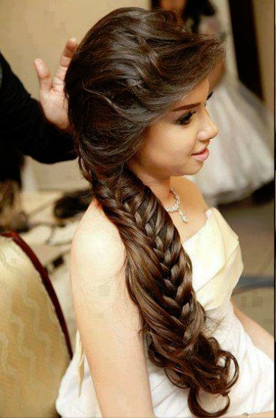 Graduation Hairstyle For Long Hair