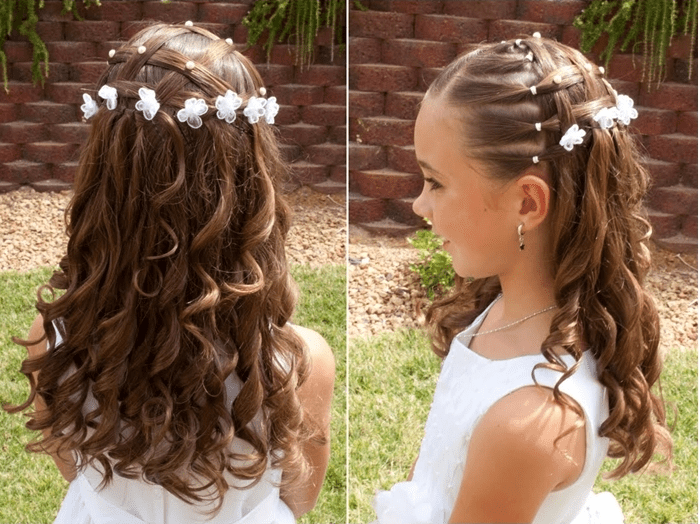 Hairstyle For Little Girls With Long Hair