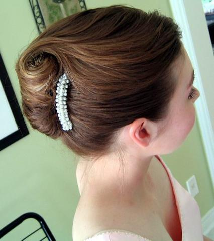 French-Twist-Hairstyle