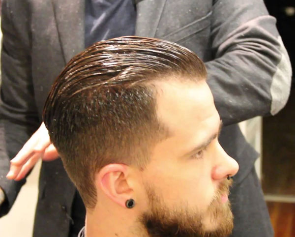Pompadour Haircut Style for Men