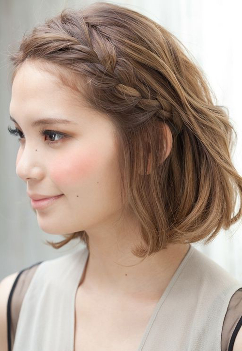 Braided Hairstyle for Short Hair - Hairstyle Archives
