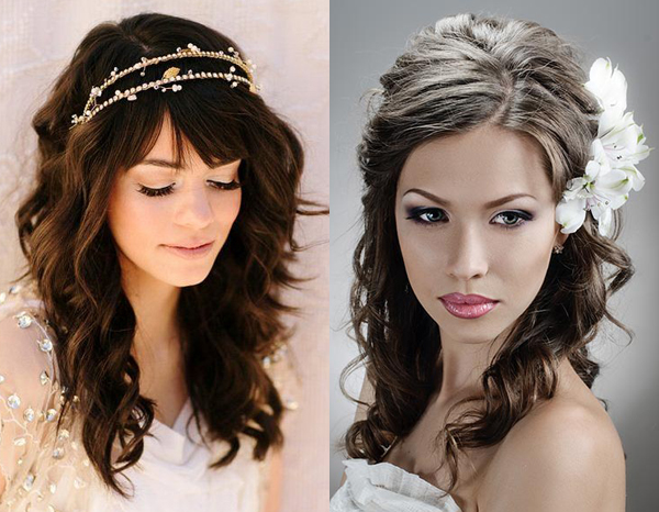 Wedding Hairstyles Down