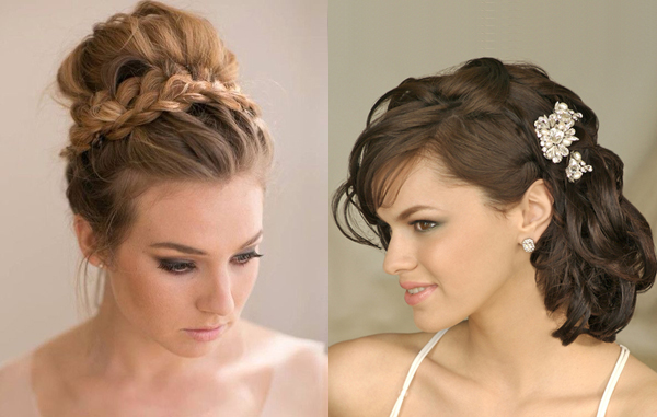 Wedding Hairstyles for Medium-Hair