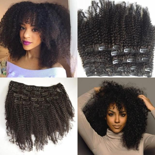 best clip in extensions for african american hair