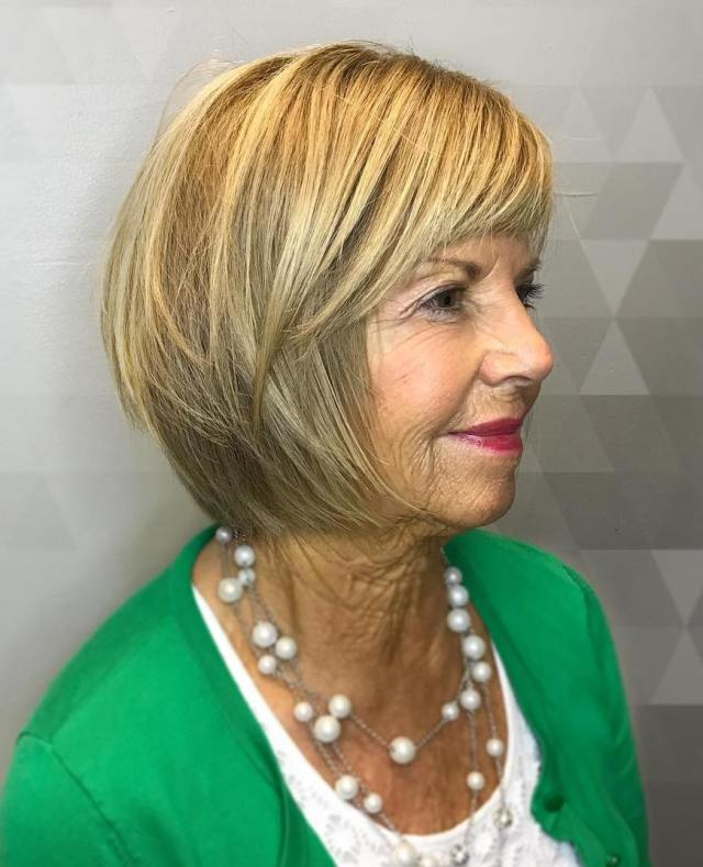 the hottest hairstyles and haircuts for women over 60 to