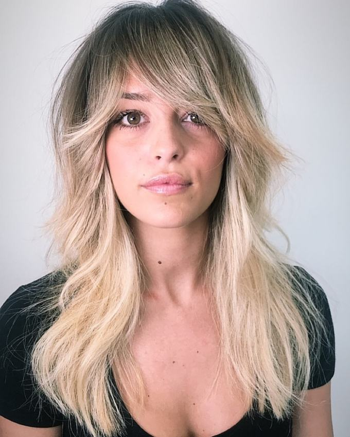 the most instagrammable hairstyles with bangs in 2019