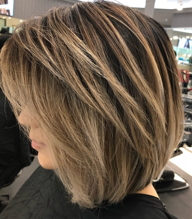 40 awesome ideas for layered bob hairstyles you can't miss