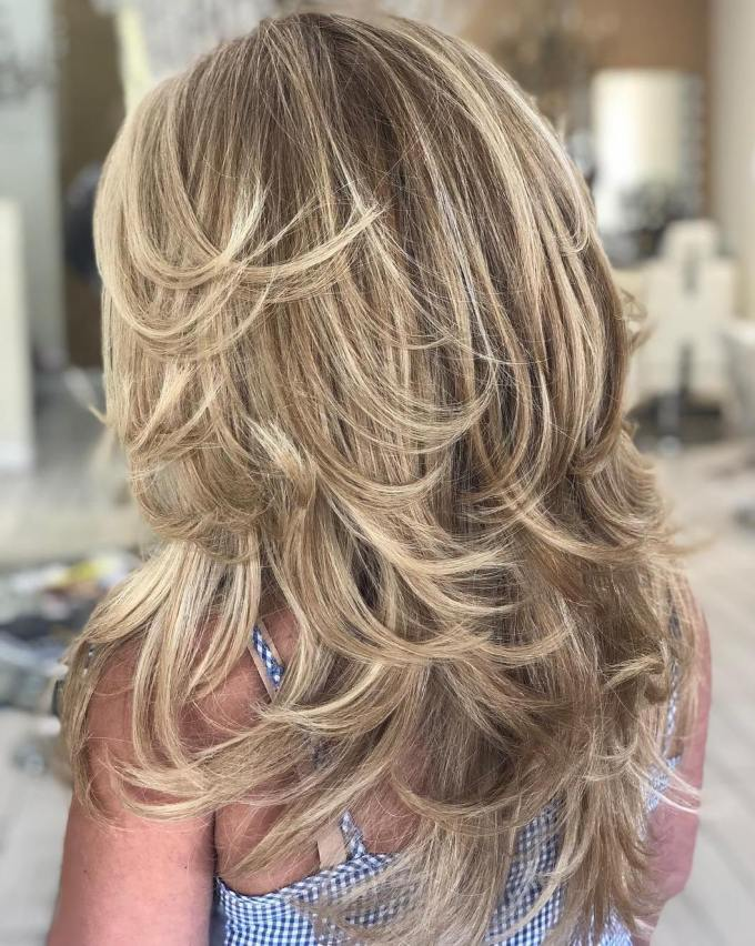 trendy hairstyles and haircuts for long layered hair to rock