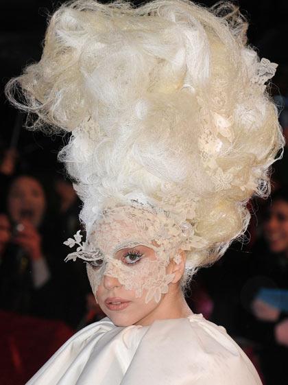 Fantastic Hairstyle Of Lady Gaga