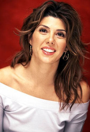 Marisa Tomei Medium Layered Hairstyle