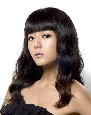 Hime Cut Korean Hairstyle