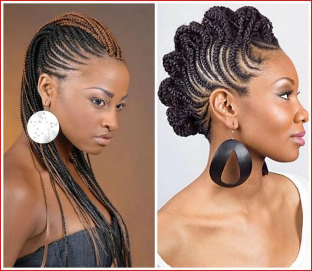 mohawk braids hairstyles 2018 - hairstyles braided
