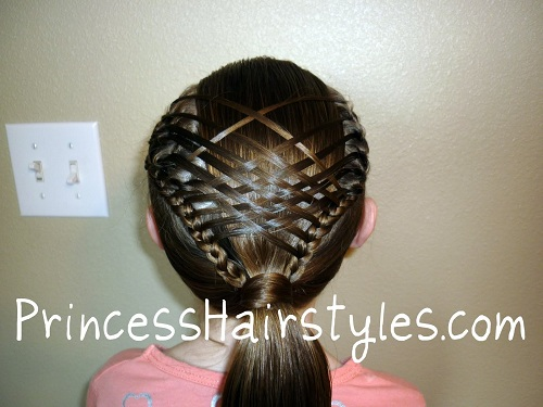Steps To Create Basket Weave Braid Style Hairstylescut