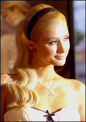 Paris Hilton Cute Headband Hair Hairstylescut