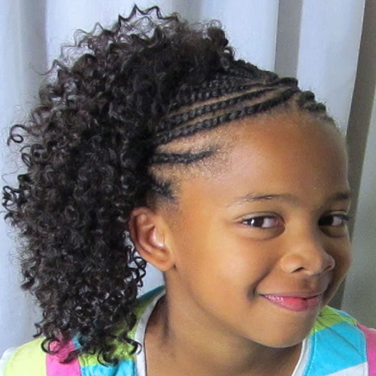 64 Cool Braided Hairstyles For Little Black Girls Page 3