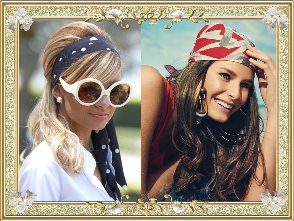 25 Nifty Bandana Hairstyles For Charming Girls New