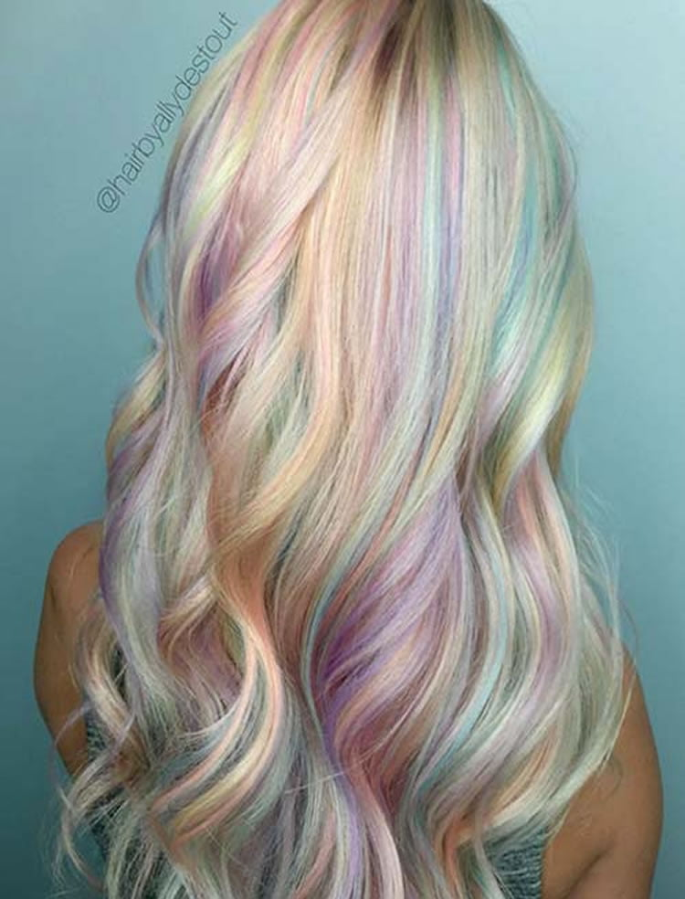 51 Colorful Hairstyles Tutorials For Charming Ladies 2017