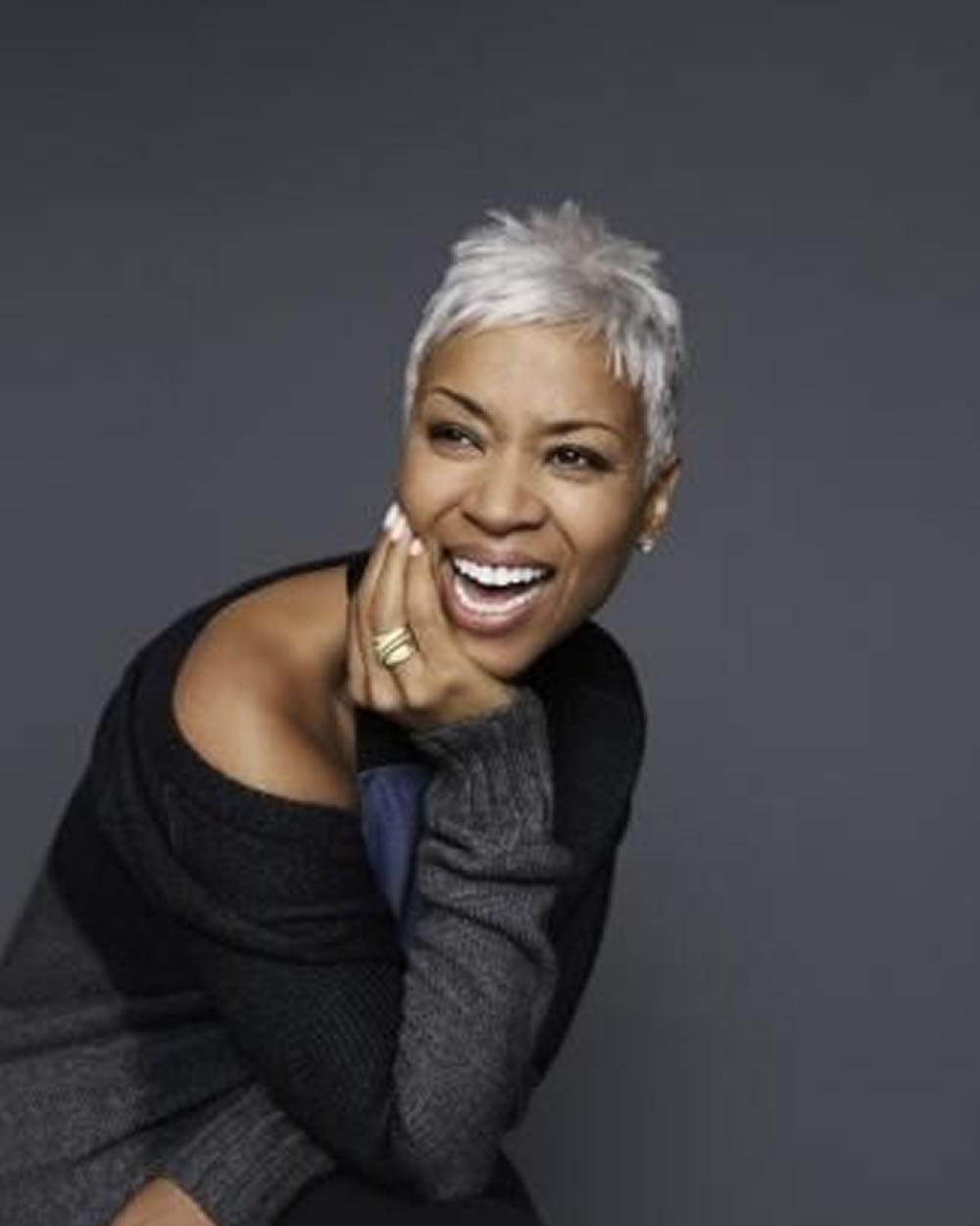 Short Hairstyles 2018 Black Female Over 50