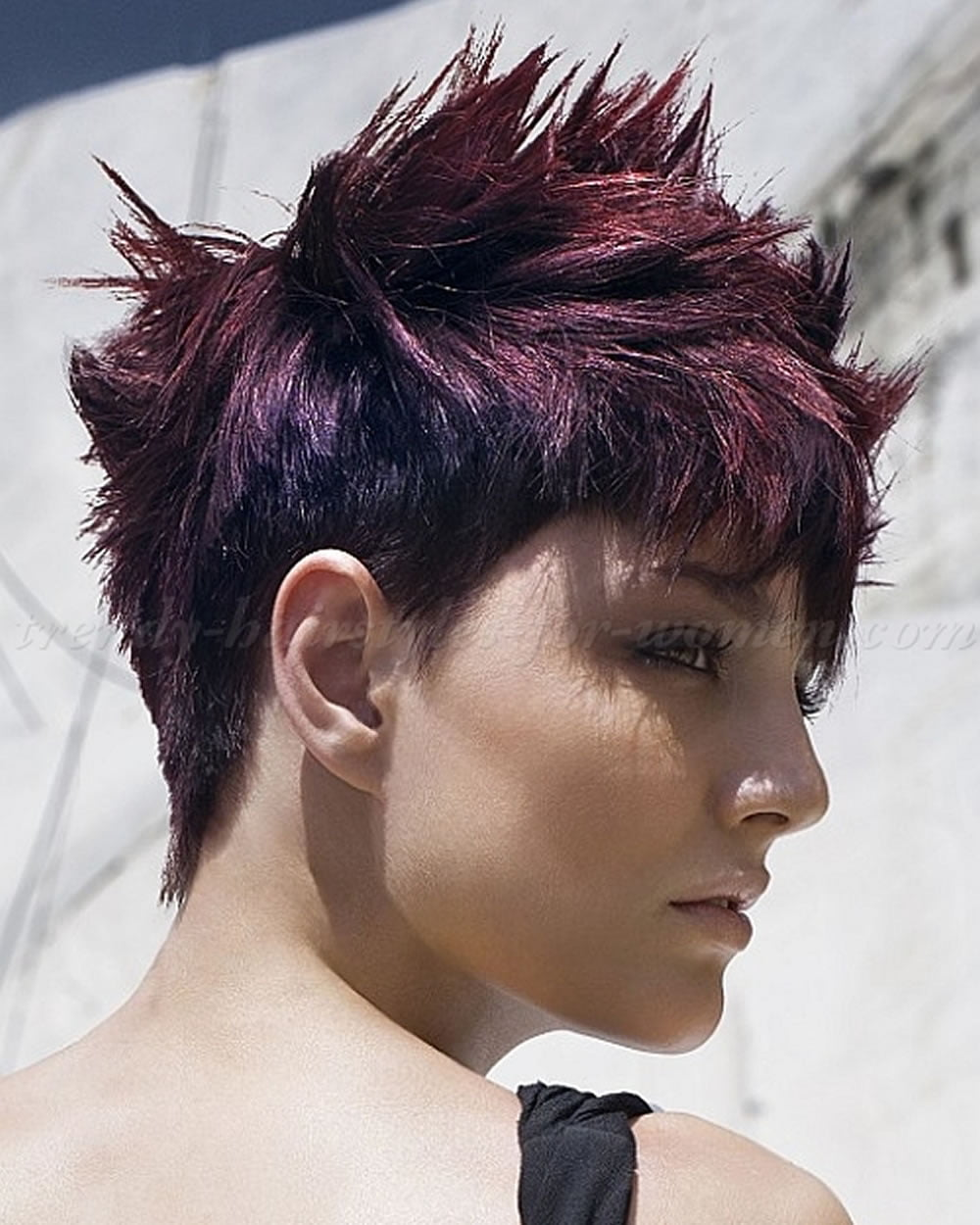 Short Spiky Haircuts Amp Hairstyles For Women 2018 Page 9
