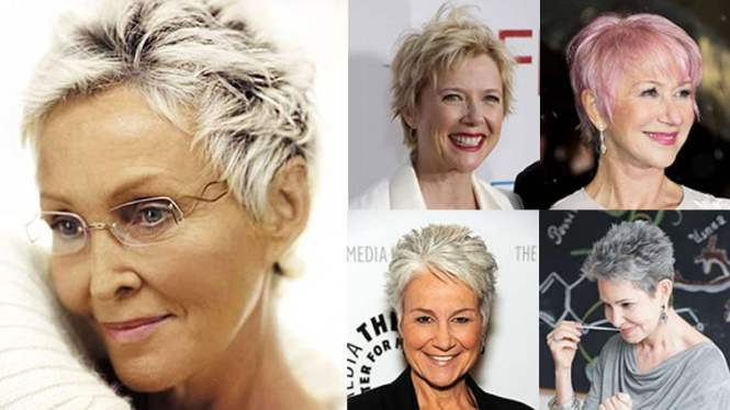 Pixie Short Haircuts For Older Women Over 50 Trend 2018 Spring Summer