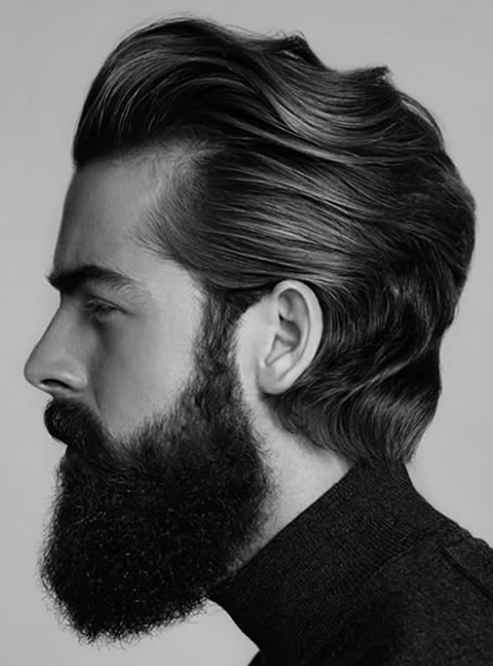 Pompadour Hairstyles For Men 2018 Modern Fade Big