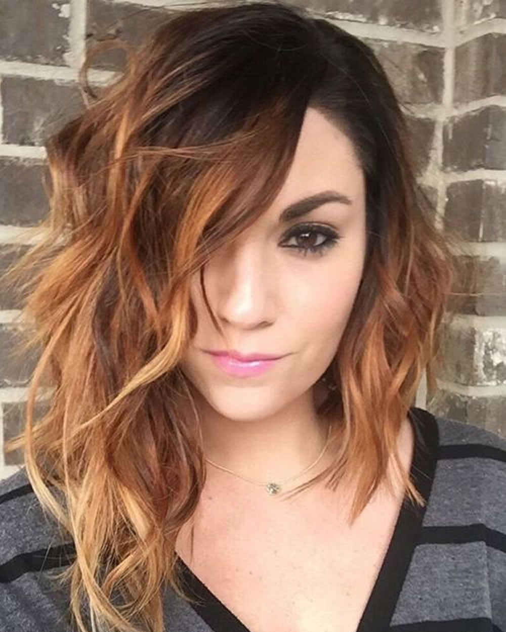 Short Curly Asymmetrical Bob Haircut For Fine Hair Page