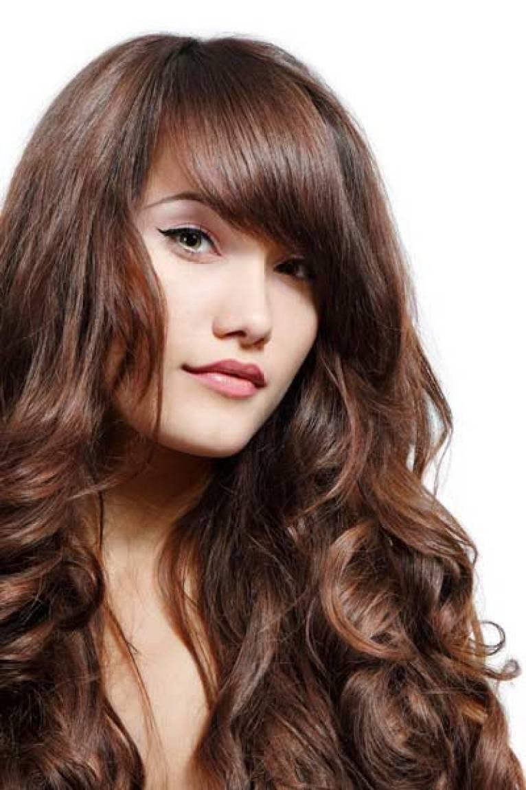 Thin hair bangs