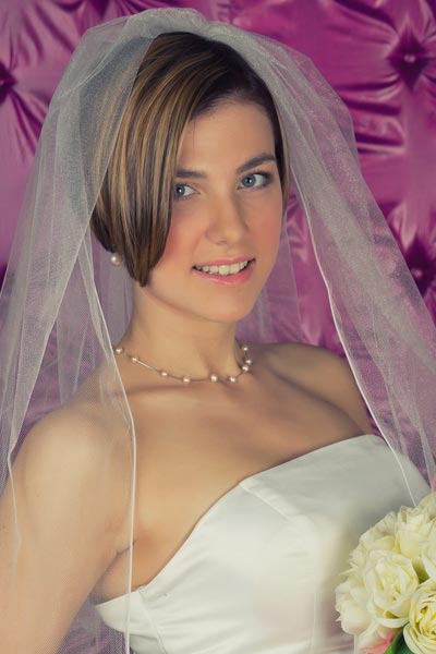 Shoulder Length Wedding Hairstyles Down