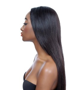 weave hair extensions application