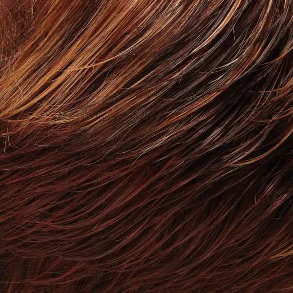 32F | Cherry Creme | Dark & Med Red Brown, Light Red-Gold Blonde Blend