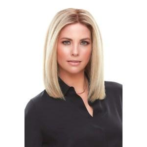 Top Smart 12″ Topper | Remy Human Hair Lace Front (Mono Base) | 32 Colours
