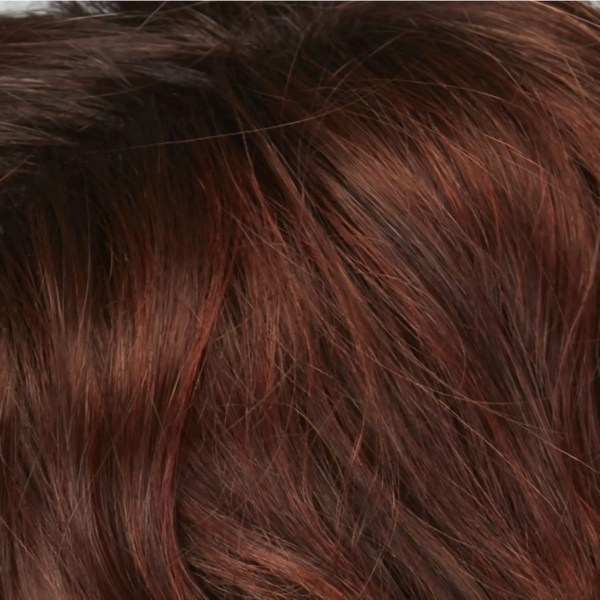 Rich Chestnut Glow Rooted Wig colour by Natural Image